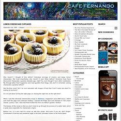 Lemon Cheesecake Cupcakes : Cafe Fernando – Food Blog - cheesecake recipe - lemon - lemon cheesecake - lemon cheesecake recipe - Cheesecake