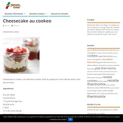 Cheesecake cookeo