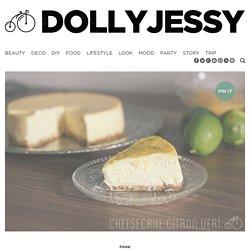 """New York Cheesecake"" au citron vert - Dollyjessy (Jessica Djaafar)Dollyjessy"