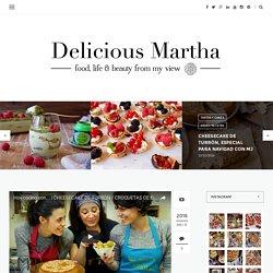 Cheesecake de turrón, especial para Navidad con MJ - Delicious Martha