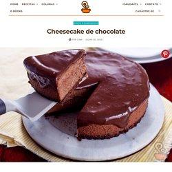 Cheesecake de chocolate - receita deliciosa e com poucos ingredientes