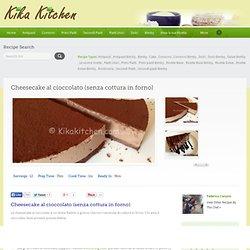 Cheesecake al cioccolato (senza cottura in forno)
