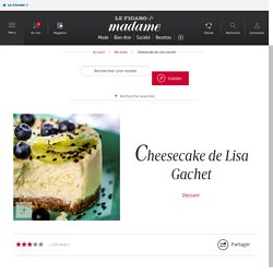 Cheesecake de Lisa Gachet