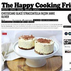 Cheesecake glacé stracciatella façon Jamie Oliver