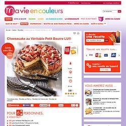 Recette de Cheesecake au Véritable Petit Beurre LU®