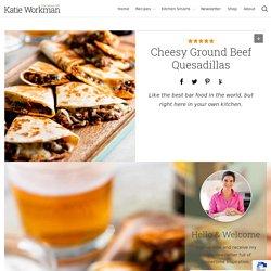 Cheesy Ground Beef Quesadillas Recipe — The Mom 100