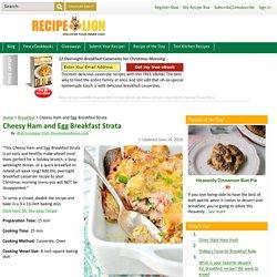 Cheesy Ham and Egg Breakfast Strata