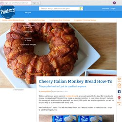 Cheesy Italian Monkey Bread from Pillsbury