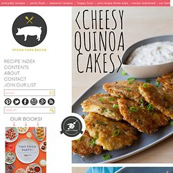 Cheesy Quinoa Cake recipe
