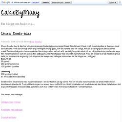 Cheez Doodle-bars - CakeByMary