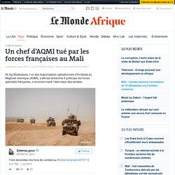 Un chef d'AQMItué par les forces françaises au Mali