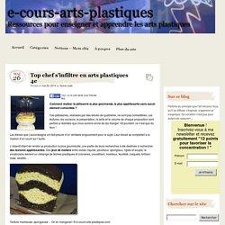 Top chef s'infiltre en arts plastiques 4e