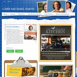 Chef Michael Smith | Home