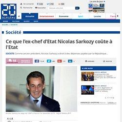 Les très chers frais de l'ancien chef d'Etat Nicolas Sarkozy