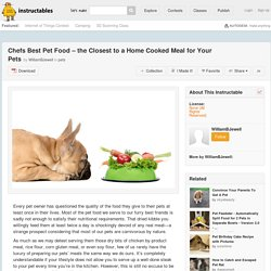 Chefs Best Pet Food