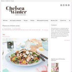 ChelseaWinter.co.nz Moroccan chicken salad - ChelseaWinter.co.nz