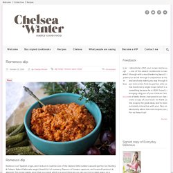 ChelseaWinter.co.nz Romesco dip - ChelseaWinter.co.nz