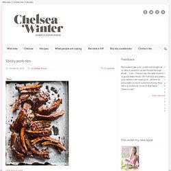 ChelseaWinter.co.nz Sticky pork ribs