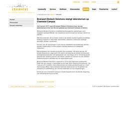 The chemical innovation community - Nieuws