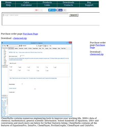 ChemEng Software Design -CESD- Software Engineering Tools