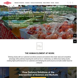 Dow Chemical Corporate Website - The Dow Chemical Company