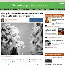 Teen girls' chemical exposure plummets after switching to better beauty products