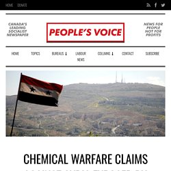Chemical Warfare Claims Against Syria Exposed by Independent Research Group