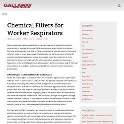 Chemical Filters for Worker Respirators