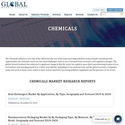 Chemicals - Global Market Studies