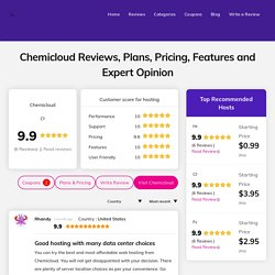 Chemicloud Hosting Reviews - Instant Off upto 65% for All Hosting