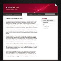 Chemie hrou - databanka domácích pokusů