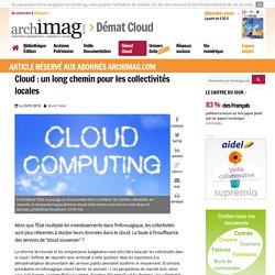 Cloud : un long chemin pour les collectivités locales