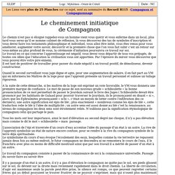 6009-6 : Le cheminement initiatique de Compagnon
