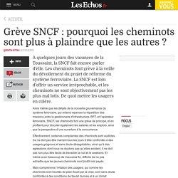 Grève SNCF : pourquoi les cheminots sont plus à plaindre que les autres ?