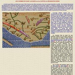 Les chemins de Compostelle dans les cartes d'Édrisi