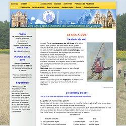 Sac à dos - www.compostelle-vienne.org