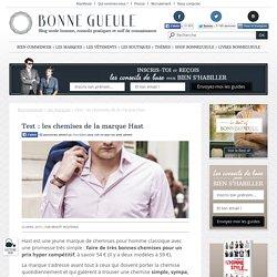 Les chemises de la marque Hast : Test et avis