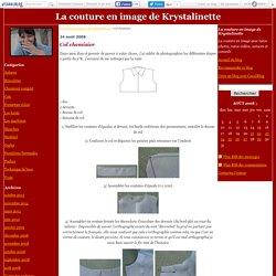 Col chemisier - La couture en image de Krystalinette