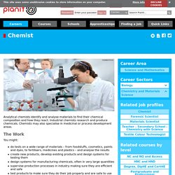 Chemist Chemistry and Materials Science