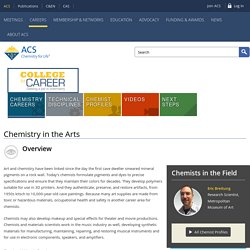 Chemistry in the Arts - American Chemical Society