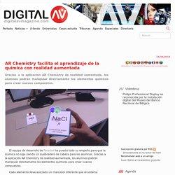 AR Chemistry facilita el aprendizaje de la química con realidad aumentada