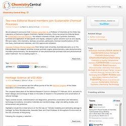 Chemistry Central blog