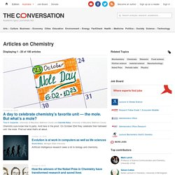 Chemistry – News, Research and Analysis – The Conversation – page 1