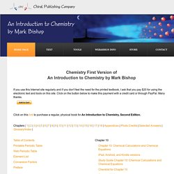 Chemistry First