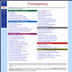 The Chemogenesis Webbook