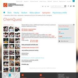 ChemQuest - Vysoká škola chemicko-technologická v Praze