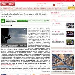 Montaut. Chemtrails, des épandages qui intriguent dans le ciel - Ariège