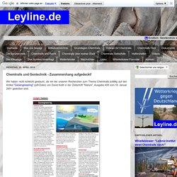Leyline.de: Chemtrails und Gentechnik - Zusammenhang aufgedeckt!