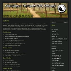 19 Form « Chenjiagou Taijiquan USA, Chicago
