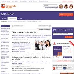 Cheque emploi associatif : principe du chèque emploi associatif